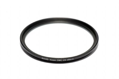 58mm Kood Multicoated UV Filter Ultra Slim UV DMC Filter Protection Filter 58mm